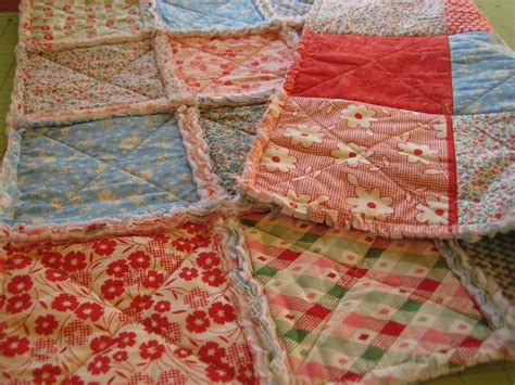 How To Quilt A Quilt by Rag Quilt Quilting In The