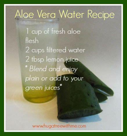 Aloe Vera Detox Drink Recipe by 17 Best Ideas About Aloe Vera On Aloe Benefits