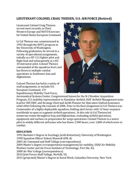 air bio template 24 images of army biography template leseriail