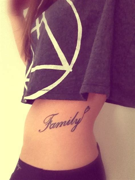 tattoo family on ribs tattoos familien and familien tattoos on pinterest
