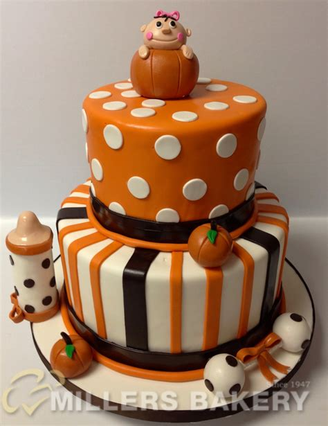 themed cake decorations fall themed baby shower ideas and you should see the