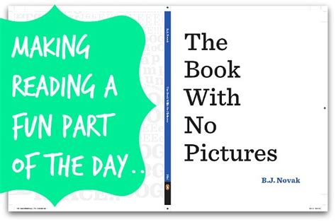 no pictures book quot the book with no pictures quot make reading a part of