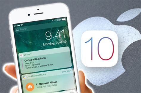apple ios 10 iphone update is available now daily