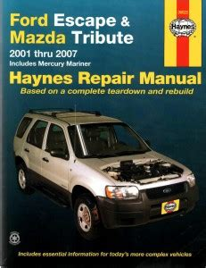 car repair manuals download 2007 ford e350 navigation system ford escape 2002 2004 2005 2006 2007 workshop service repair manual car service