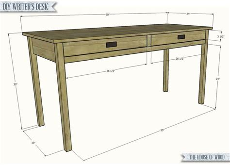 Free Writing Desk Plans Woodworking Projects Plans Desk Plans Free