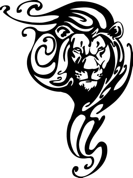 tribal lion tattoos designs tattoos leo of judah and tribal