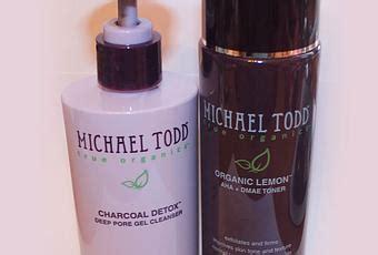 Michael Todd True Organics Charcoal Detox Cleanse by Skincare Review Michael Todd True Organics Paperblog