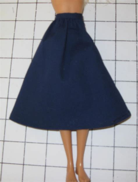 pattern making gathered skirt free barbie dolls gathered skirt sewing pattern