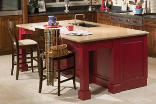 maple kitchen island legs kitchen islands options from may supply and yorktowne cabinetry may supply company