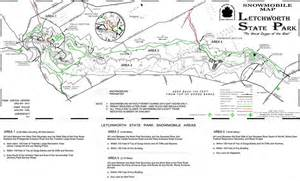 Ny State Parks Map by Letchworth State Park Maplets