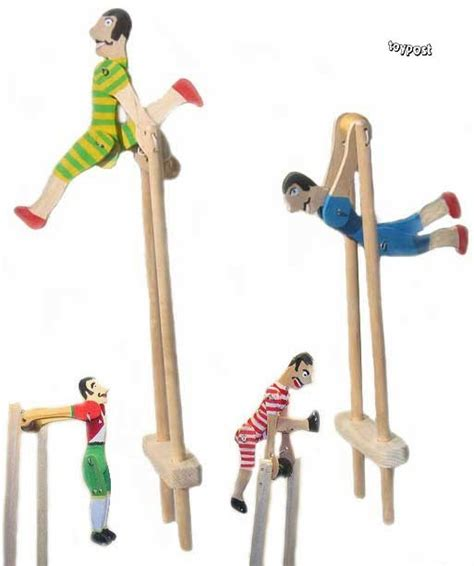Handmade Wooden Toys Uk - toypost acrobat squeeze archie handmade