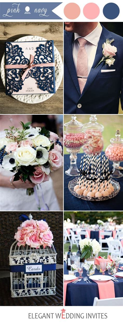 48 pink wedding color combination ideas pink wedding colors navy and weddings