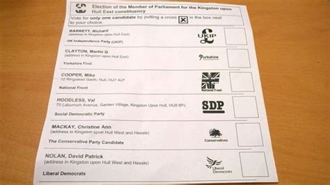 Electoral System In Uk Essay by Labour And Green Candidates Left Postal Ballot Papers Vox Political