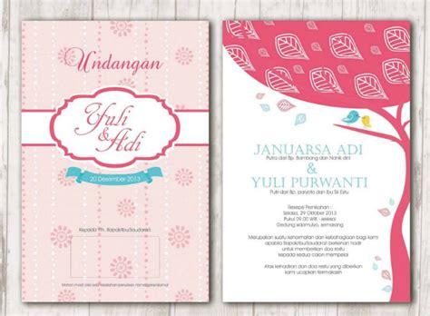 contoh layout undangan pernikahan 32 contoh desain undangan pernikahan unik modern elegan