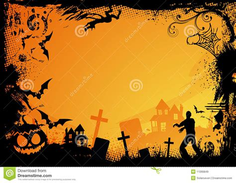 Halloween Themes Images | orange halloween theme royalty free stock images image