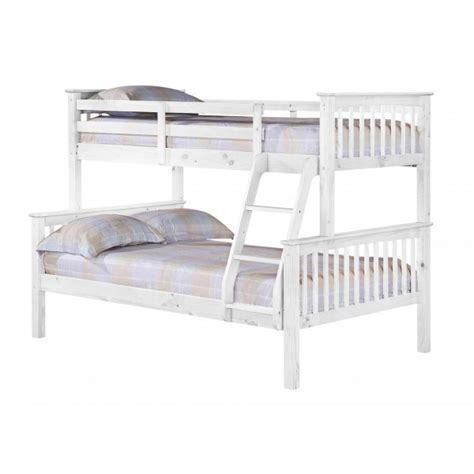 cheap triple bunk beds cheap heartlands porto triple bunk bed white for sale online