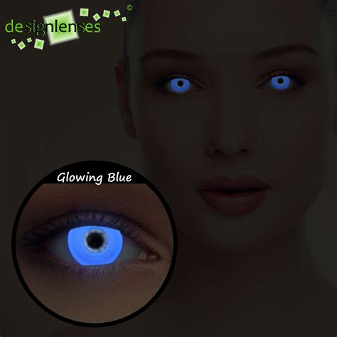 scary colored contacts glowing colored uv light contacts scary