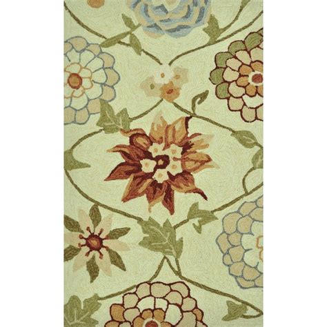 summerton collection floral area rug loloi rugs summerton style collection ivory floral 2 ft 3 in x 3 ft 9 in accent rug