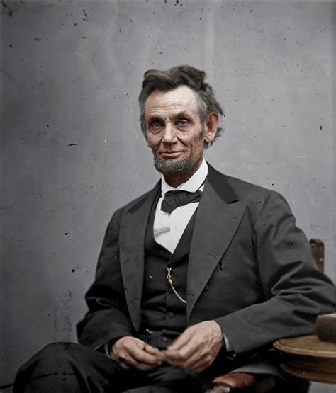 life of abraham lincoln as president colorized history leap design