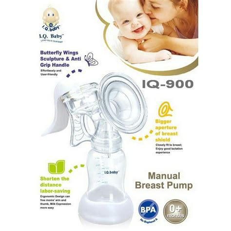iq baby manual breast pompa asi manual butterfly 900