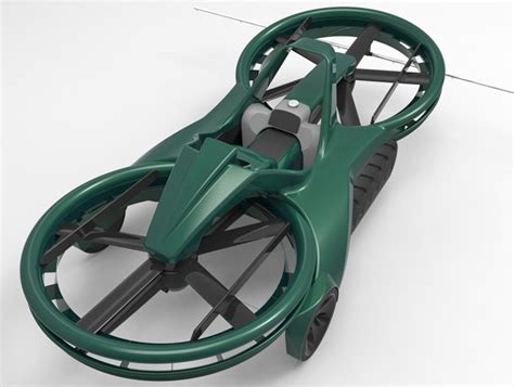 Crazy Hoverbike is Capable of Flying to 10,000 Feet