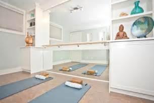 Home Yoga Room Design Ideas by Yoga Room Transitional Home Gym Calgary By Ana