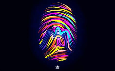 cool wallpaper brands fingerprints brand make adidas sports background