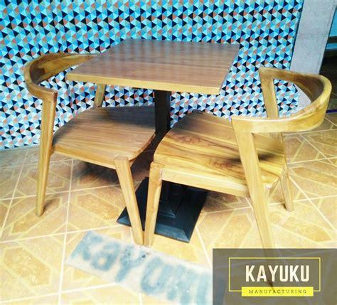 Set Kursi Meja Untuk Food Kuliner Jalanan set kursi cafe