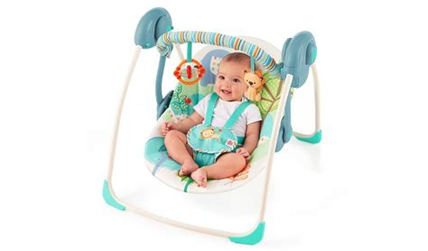 bright starts playful pals baby swing bright starts playful pals portable swing