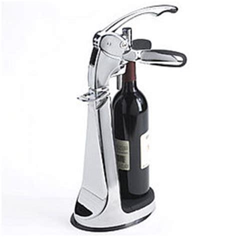 table top wine opener connoisseur s countertop wine opener findgift com