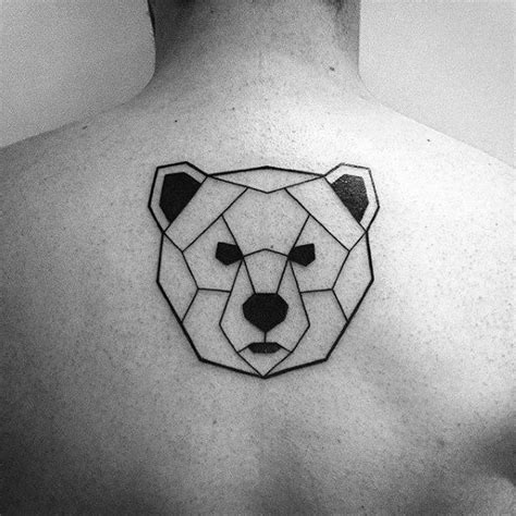 simple bear tattoo best 25 geometric ideas on