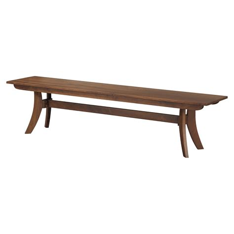 large benches florence large bench walnut dcg stores