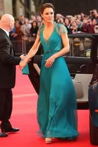 kate middleton green dress on boa olympic concert chiffon