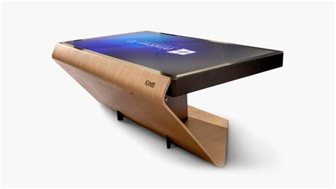 Touch Screen Coffee Table La Table Kineti Touch Screen Coffee Table Imboldn
