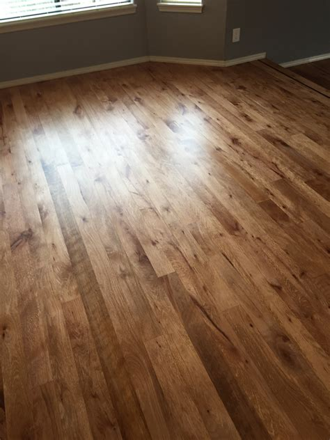 White Oak Stained with DuraSeal Cherry Stain   A MAX