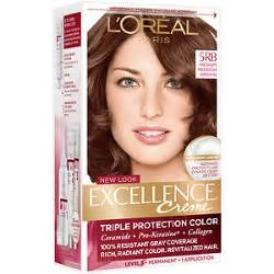 medium reddish brown hair color l oreal excellence creme protection color