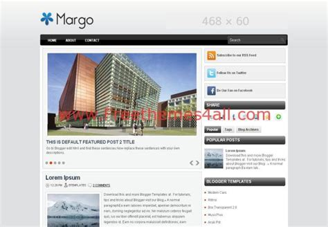 blogger themes business gray business jquery blogger theme download