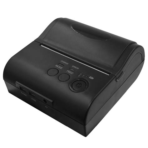 Mini Portable Bluetooth Thermal Receipt Printer 1 portable 80 mm bluetooth thermal printer andriod windows mini wireless bluetooth receipt printer