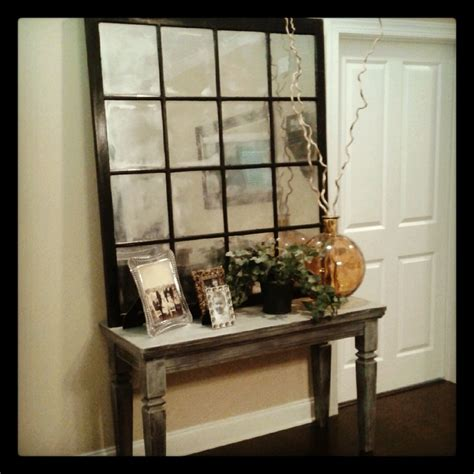 pottery barn look pottery barn style old window turned into mirror usually