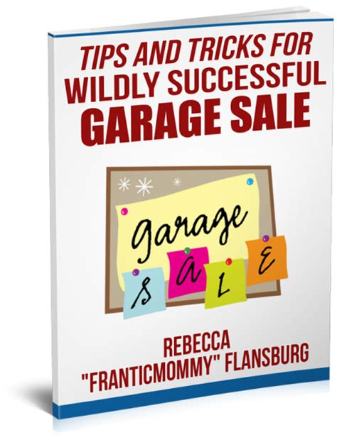 Garage Sale Tips And Tricks by The Great Purge And Other Garage Sale Incentives