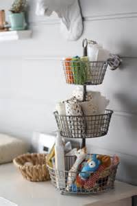 kitchen basket ideas nursery organization ideas project nursery