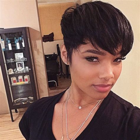 pixie cut of blackwomen on instagram 17 best images about pixie on pinterest my hair