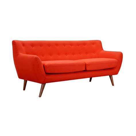 orange couches olson sofa in orange harry s used furniture