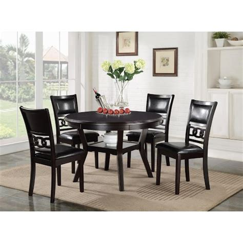 50s Dining Table And Chairs New Classic D1701 50s Dining Table And Chair Set With 4 Chairs Sol Furniture Dining