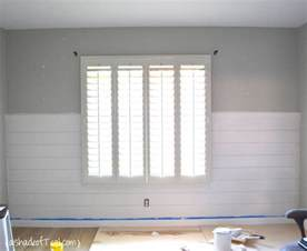 Lowes Wainscoting Panels Diy Faux Shiplap Wall