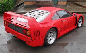 What Is A F40 Worth F40 1989 Widescreen Car Wallpaper 03 Of 8