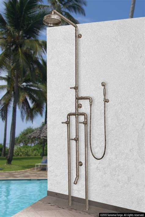 plumbing for outdoor shower 102 best images about waterbridge exposed shower systems