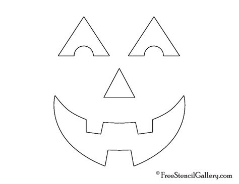 free printable jack o lantern stencils best photos of jack o lantern face templates halloween