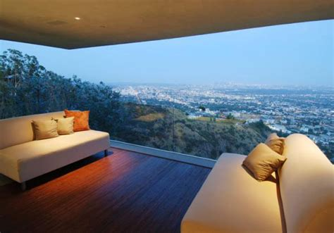 house with a beautiful view designer house in hollywood hills priceless panoramic