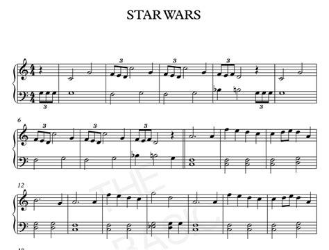 printable star wars theme song violin star wars main theme piano sheet music piano sheet